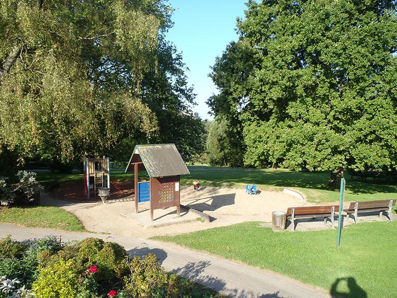 Super Botanischer Garten Solingen - Der Kinderspielplatz ZG47